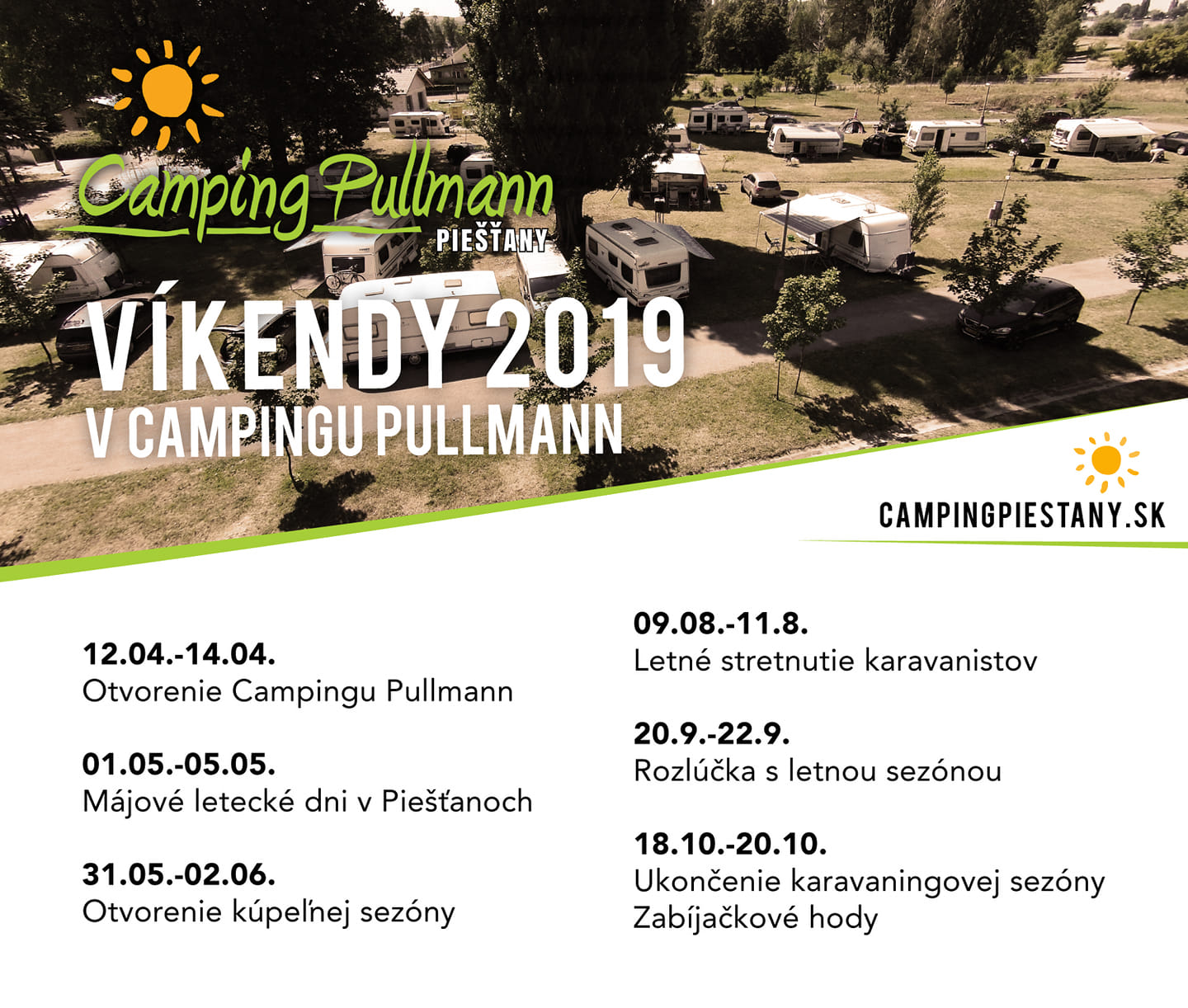 camp vikendy